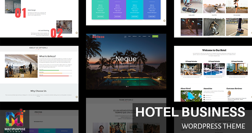 Hotel Business WordPress Theme By MultiPurpose Themes