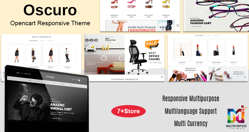 Eye Wear Opencart Responsive Theme For 2020