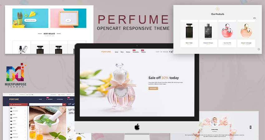 Elegant Perfume Shop Opencart Responsive Theme