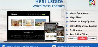 Real Estate Business WordPress Theme