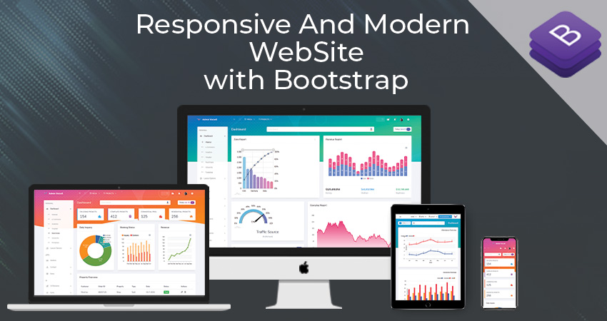 Using Bootstrap For The Development Of A Responsive And Modern Site