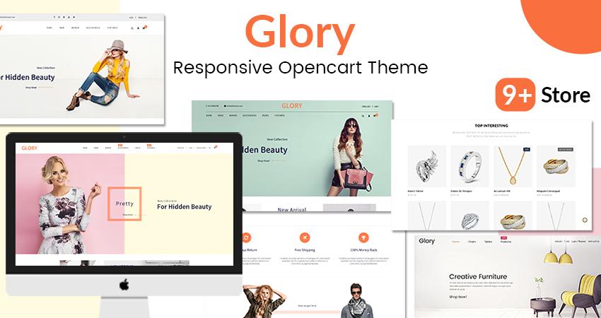 Glory MultiPurpose Opencart Responsive Theme