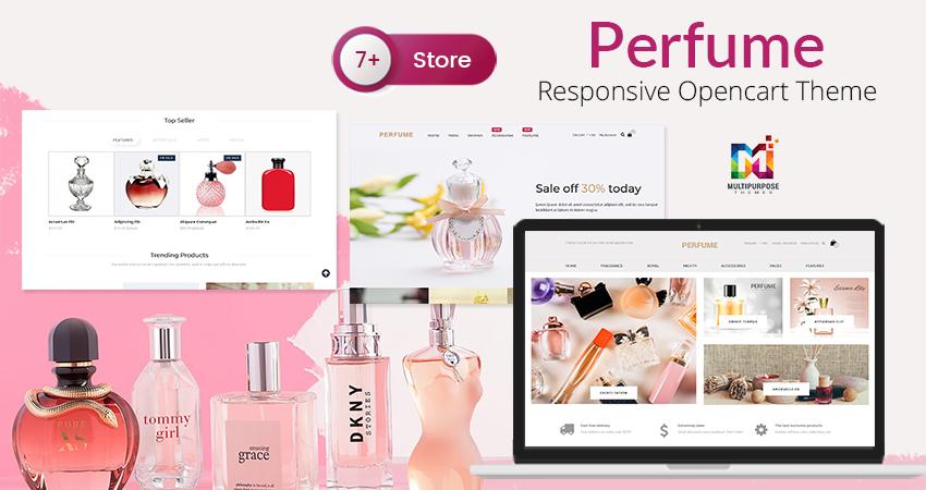 Perfume Store Opencart Responsive Theme