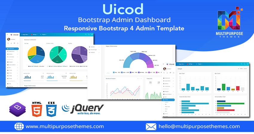 Bootstrap Admin Template – Uicod