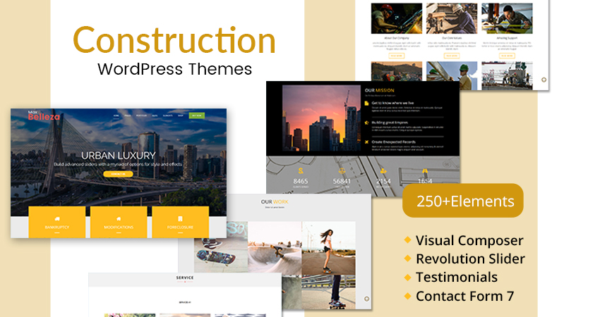 Construction Responsive WordPress Theme
