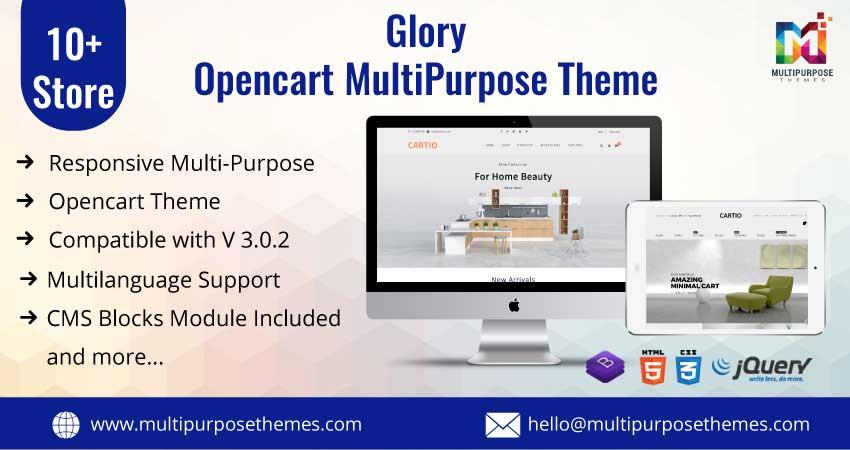 Glory – MultiPurpose Responsive Opencart Theme