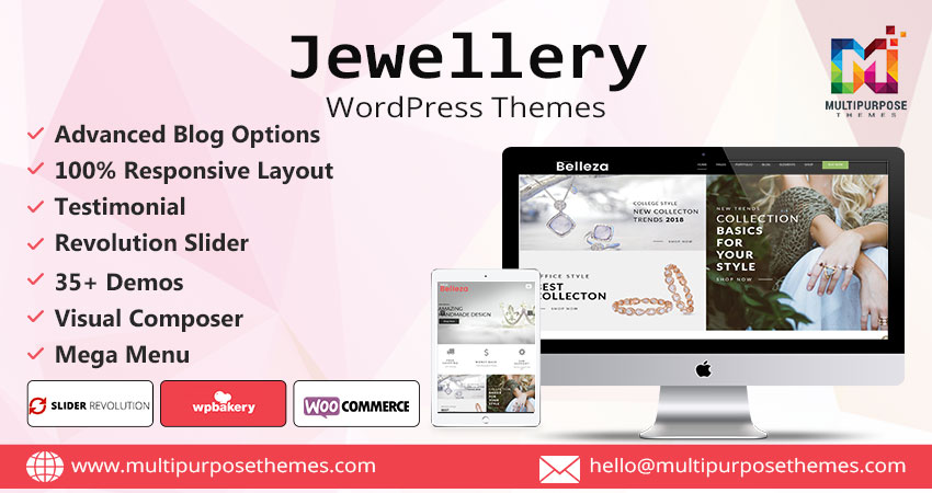 Jewellery Store WordPress Theme
