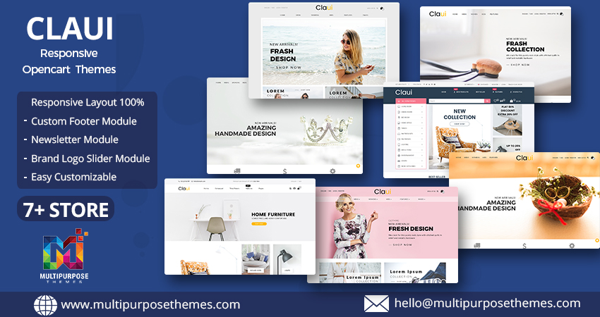 Claui Responsive Opencart Theme With Some Highlighted Features