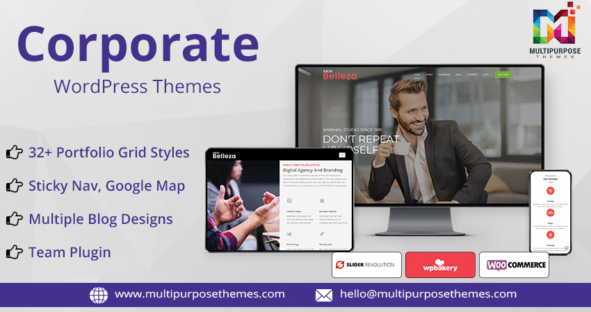 Corporate Premium WordPress Themes
