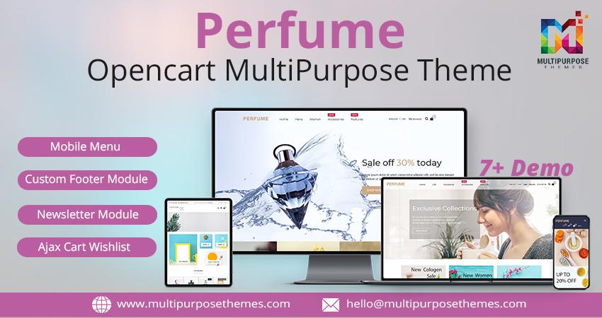 Perfume Shop 5 Responsive Opencart Theme