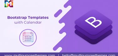 Getting To Know About The Premium Bootstrap Templates Available Out There With Calendar