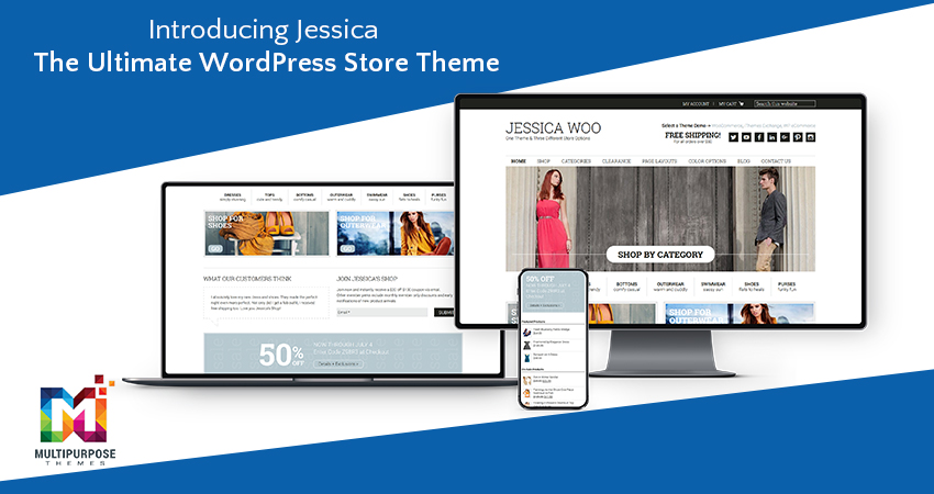Introducing Jessica – The Ultimate WordPress Store Theme