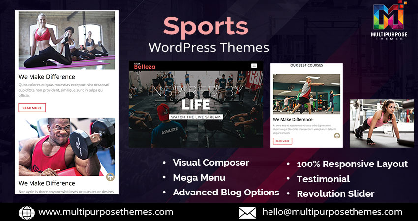 Sports Multipurpose Responsive WordPress Themes