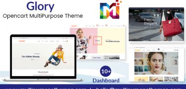 OpenCart Themes MultiPurpose Premium Glory