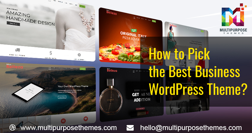 How To Pick The Best Business WordPress Theme?