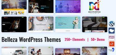Premium WordPress Themes Features Belleza