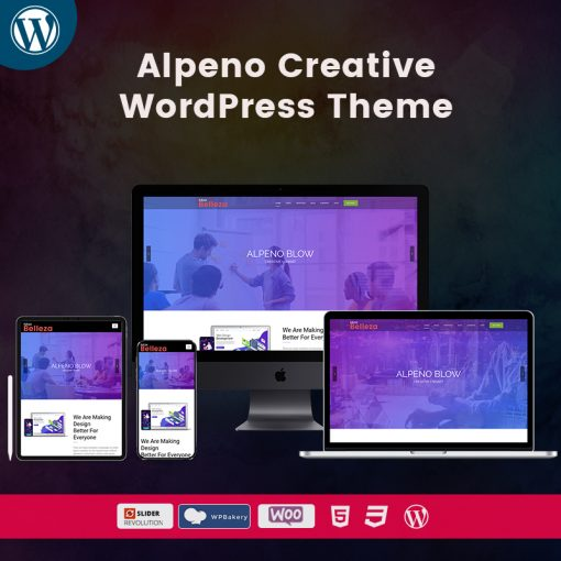 Belleza Alpeno Creative WordPress Themes