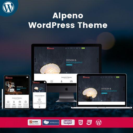 Belleza Alpeno ResponsiveWordPress Themes
