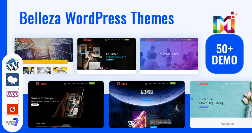 16 All New Belleza Responsive WordPress Themes With Features