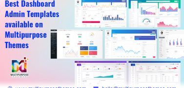 Best Dashboard Admin Templates Available On Multipurpose Themes