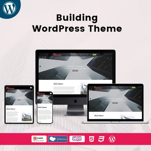 Belleza Building Responsive WordPress Themes