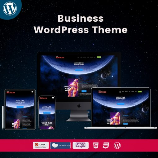 Belleza Business WordPress Themes