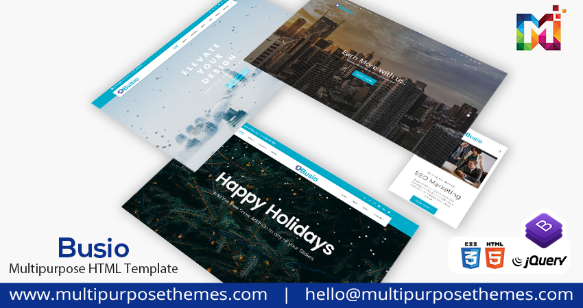 Premium HTML Template – Busio Corporate HTML Template