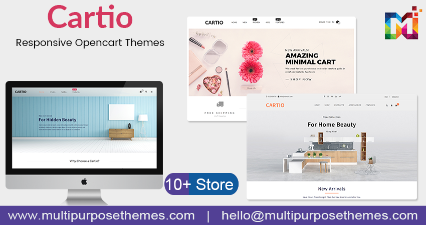 Cartio Opencart Multipurpose Theme