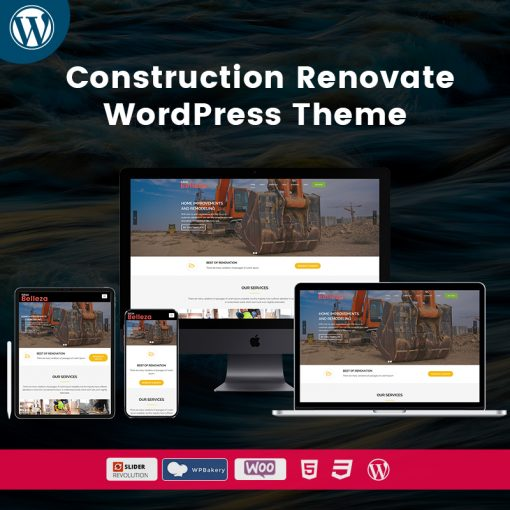 Belleza Construction Renovate WordPress Themes