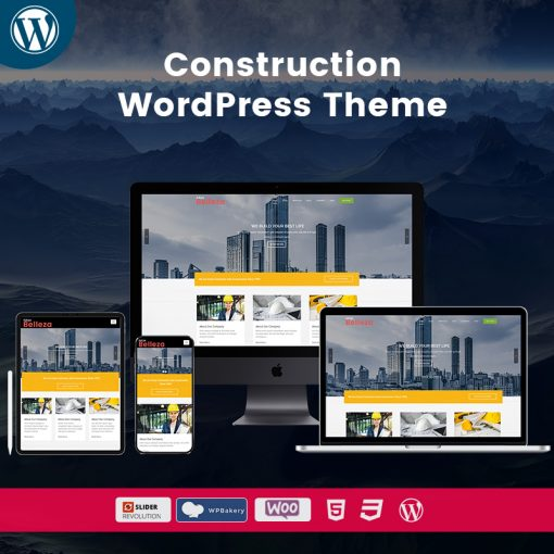 Belleza Construction Multipurpose WordPress Themes