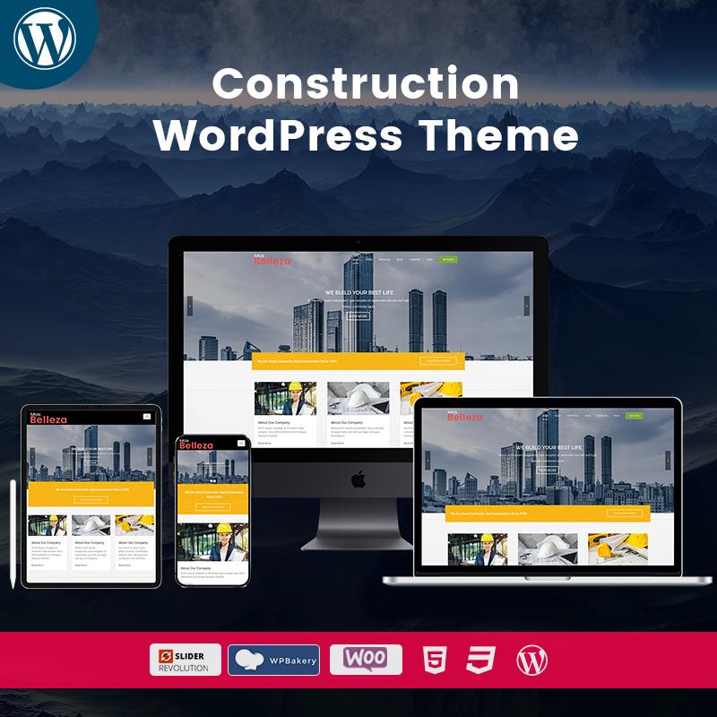 Construction Multipurpose WordPress Themes