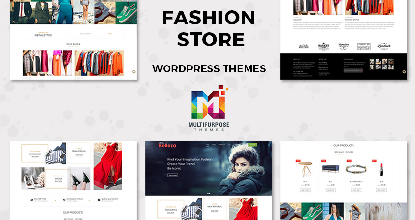 Responsive WordPress Themes Fashion
