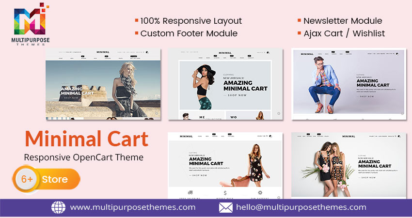 Minimal – Responsive Opencart Themes And Templates