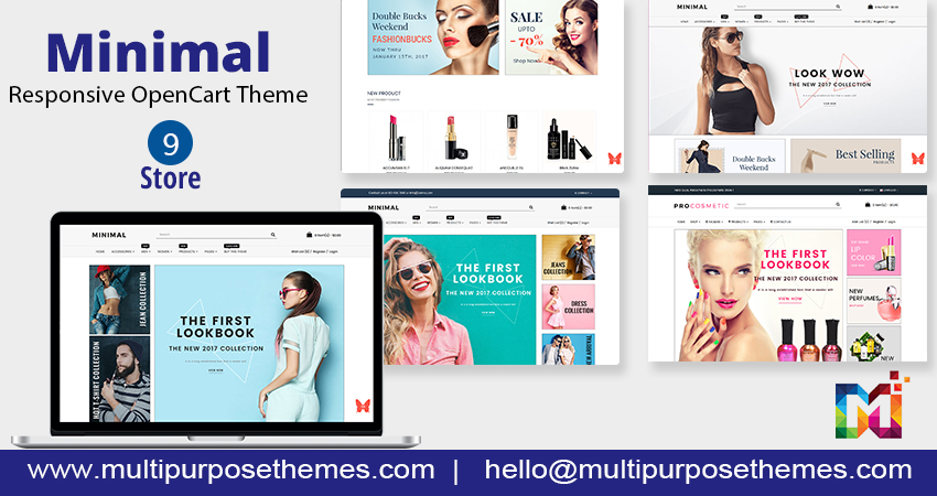 18+ Professional & Responsive OpenCart Themes