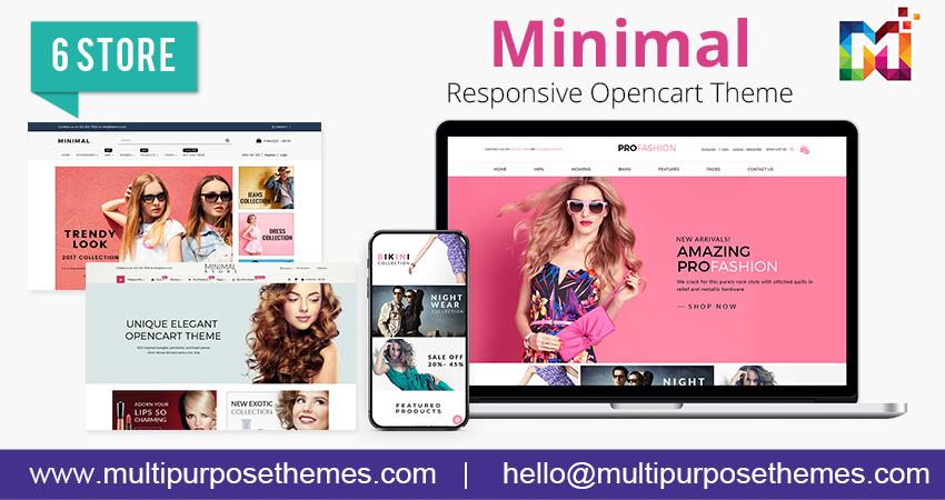 Minimal – Opencart Responsive Theme  For Fashion Websites