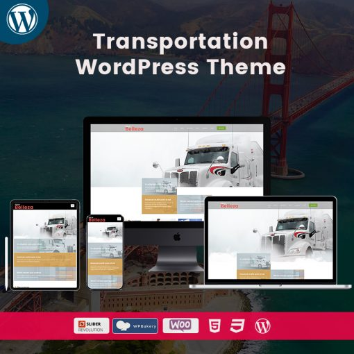Belleza Transportation WordPress Themes