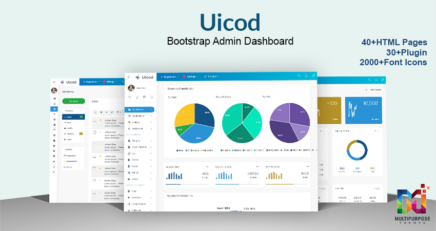 Uicod – Dashboard Admin Template