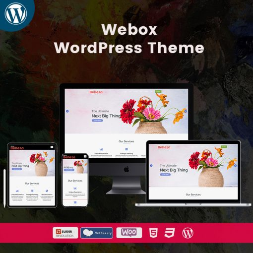 Belleza Webox WordPress Multipurpose Themes