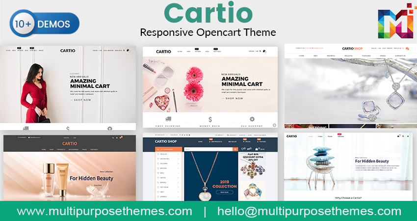 E-Commerce OpenCart Themes – Cartio Fashion OpenCart Template
