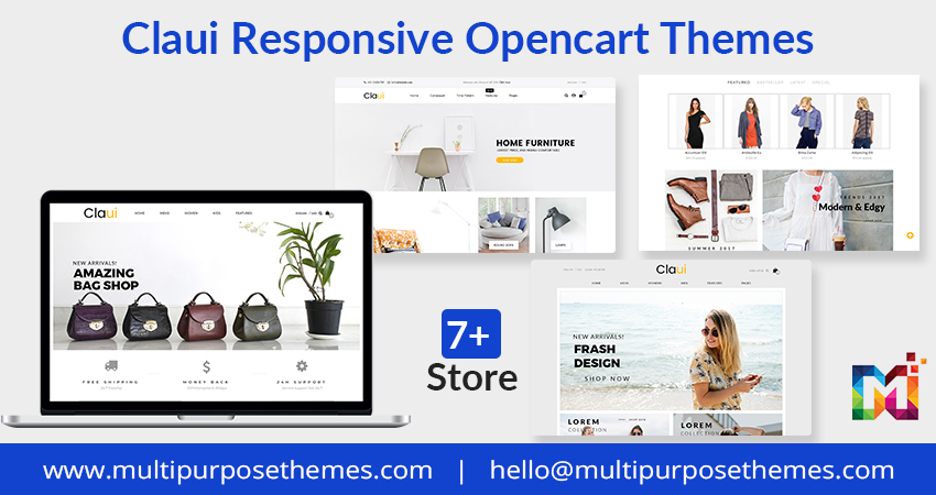 Multipurpose OpenCart Templates – Claui