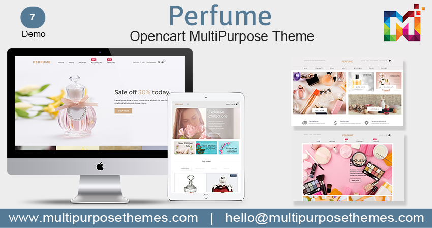 Beautiful Perfume Premium OpenCart Templates