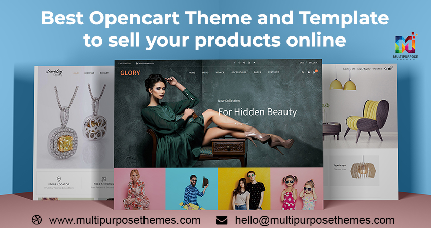 Best Premium OpenCart Template And Theme For Creating Online Store