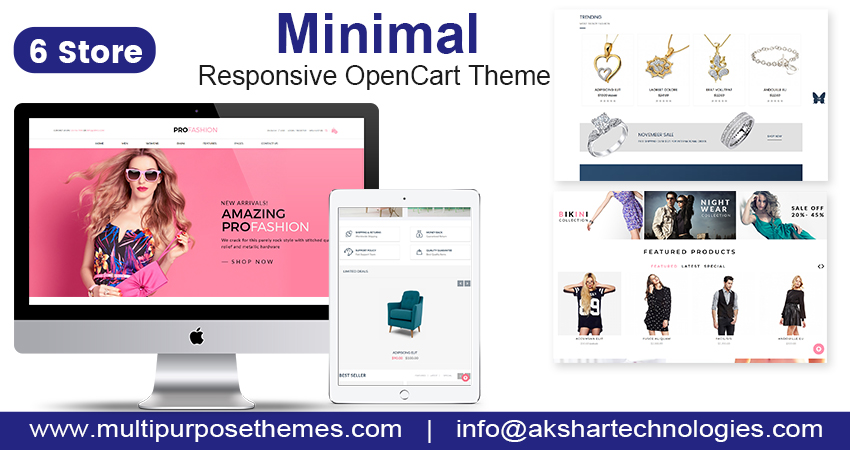Fashion OpenCart Template – Minimal