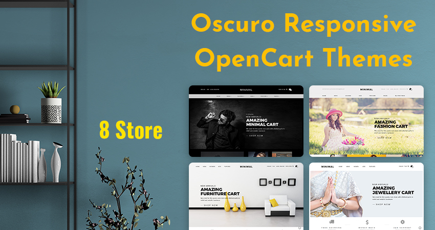 Responsive Opencart Theme: Make Your Own Elegant Online Cosmetic Store Oscuro