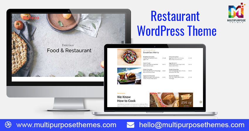 12 Restaurant And Hotel Multipurpose Responsive WordPress Themes
