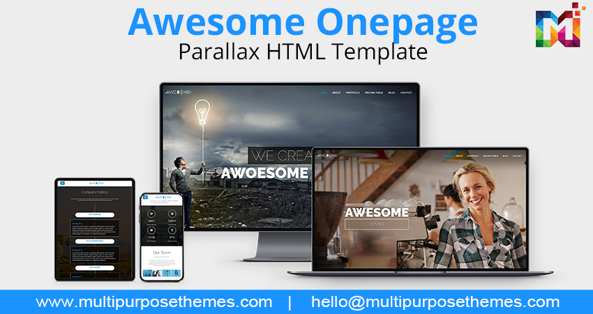 Awesome And Creative – Multipurpose Business HTML Template