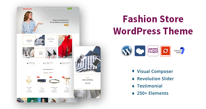 Fashion Premium Responsive WordPress Theme With Amazing Features