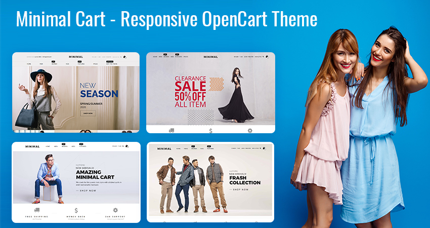 Opencart Multipurpose Theme – Minimal Cart To Create Beautiful Online Fashion Stores
