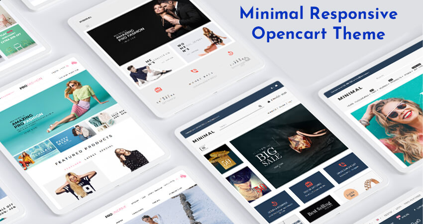 Fashion Store OpenCart Theme  – Minimal Kart With 6 Beautiful Demos To Create An Online Fashion Store