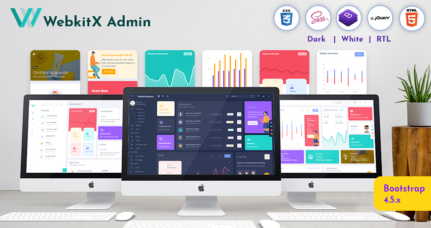 40 Best And Popular Premium Admin Template Of 2020 With Responsive Web Application Kit